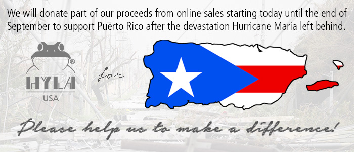 Help us to support Puerto Rico!